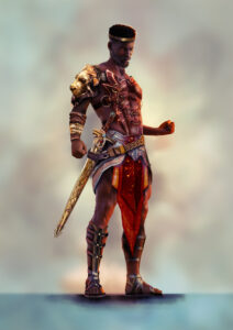 Jide - Ruler of the Yoruba Tribe